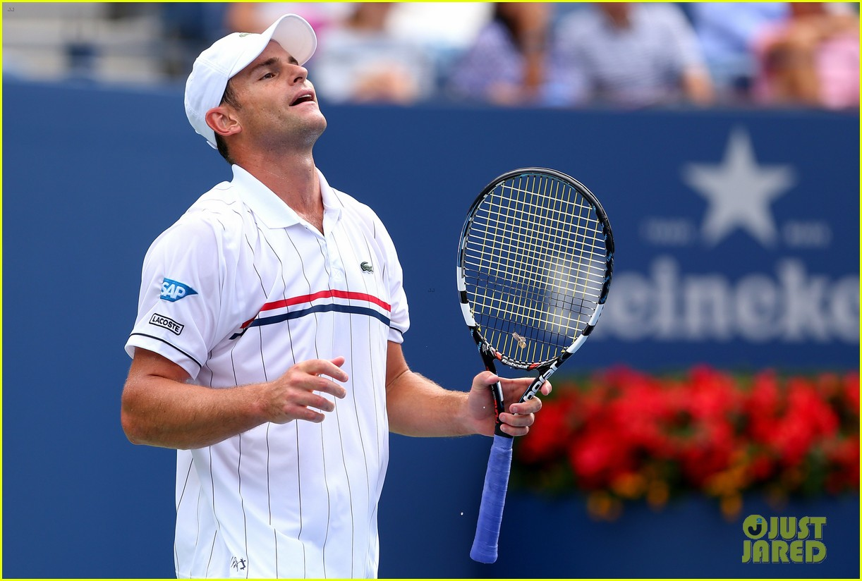 andy roddick plays final tennis match brooklyn decker cries 18