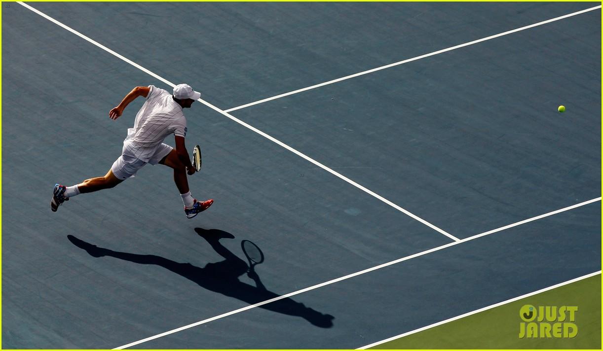 Full Sized Photo of andy roddick plays final tennis match ... Brooklyn Decker