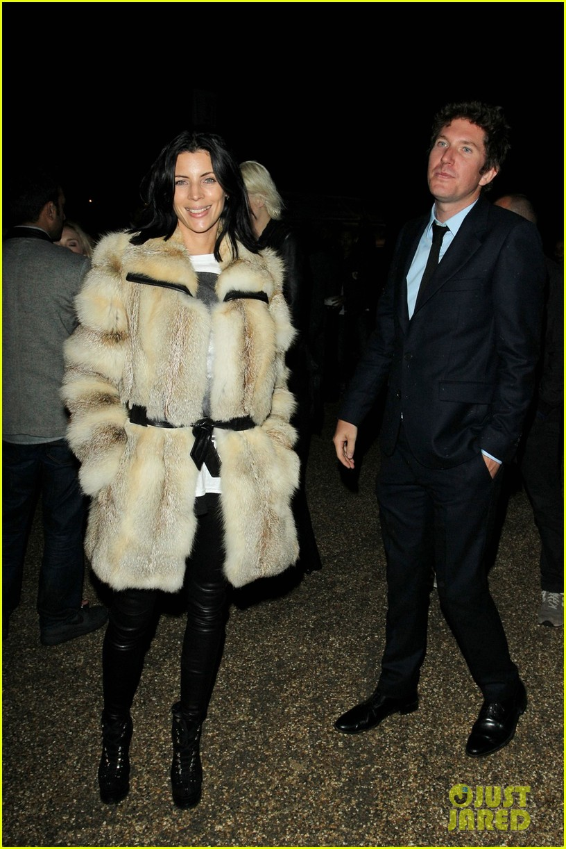 liberty ross serpentine gallery with mystery man 05