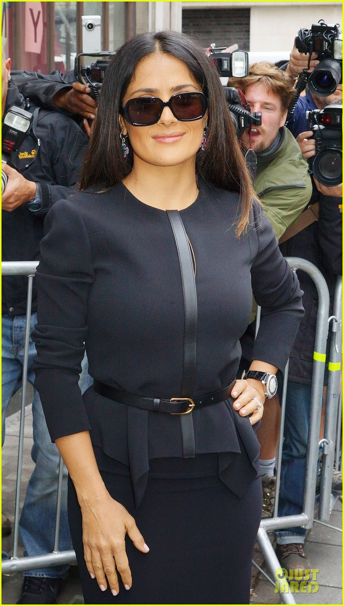 salma hayek savages bbc radio one promotion 02