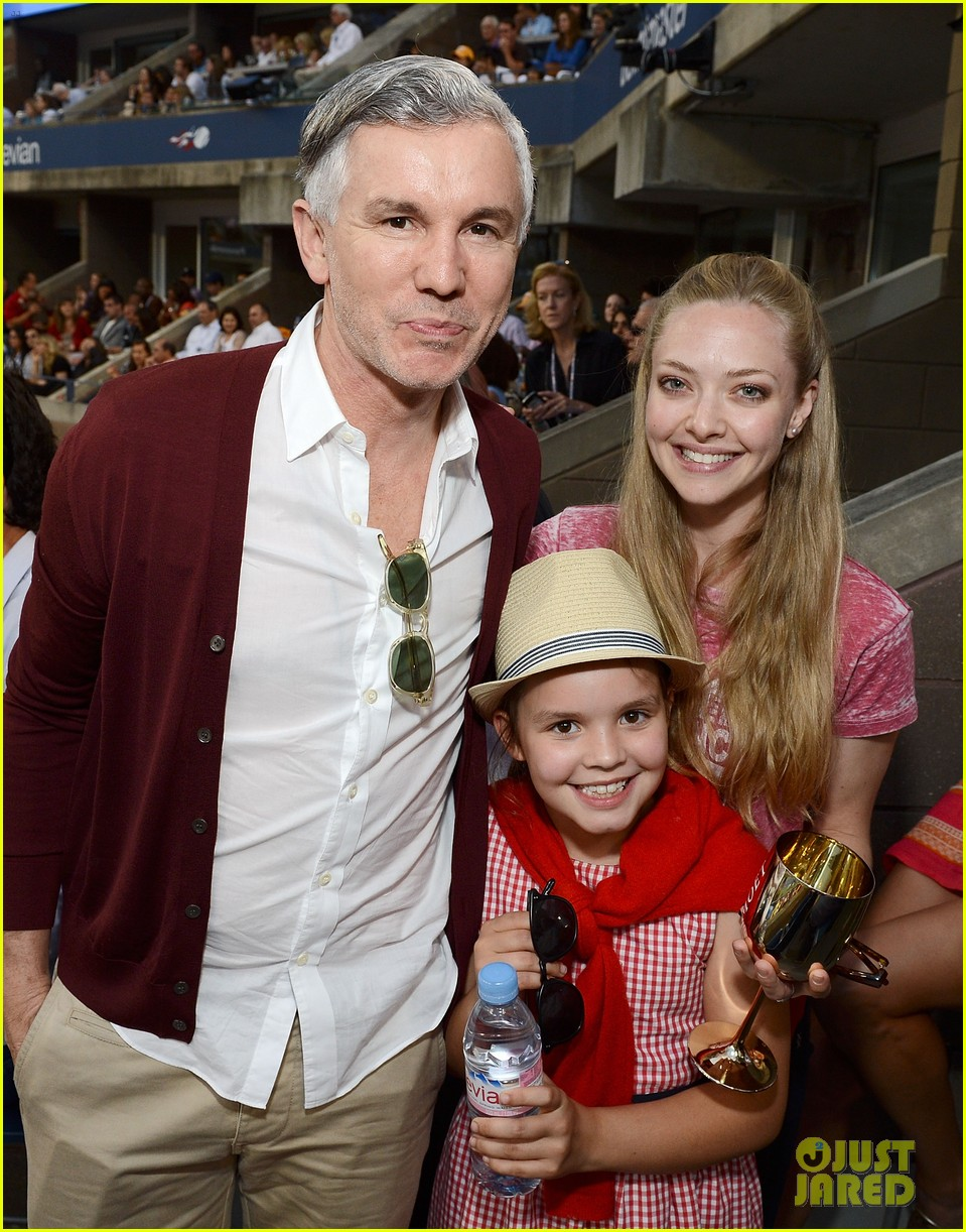 amanda seyfried us open with baz luhrmann 022718841