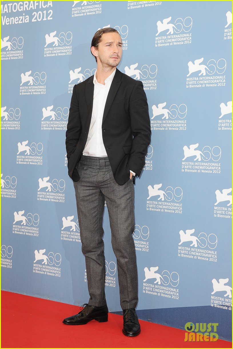shia labeouf company you keep venice photo call 01