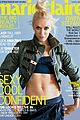 gwen stefani bares toned tummy for marie claire cover 01