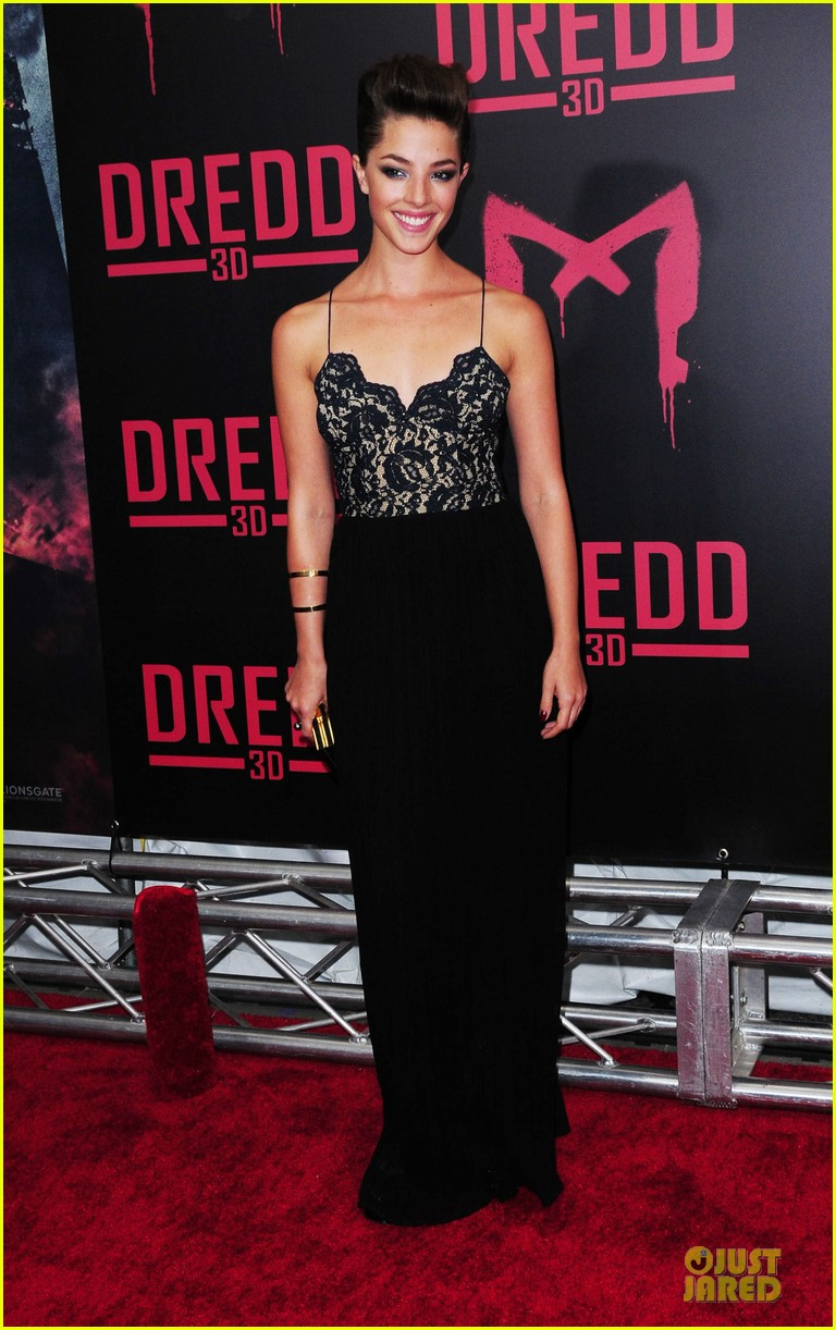 olivia thirlby karl urban dredd ny screening 01
