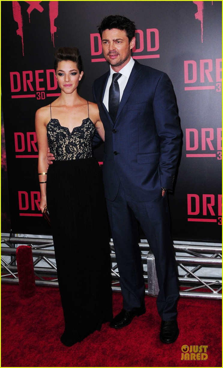 olivia thirlby karl urban dredd ny screening 03
