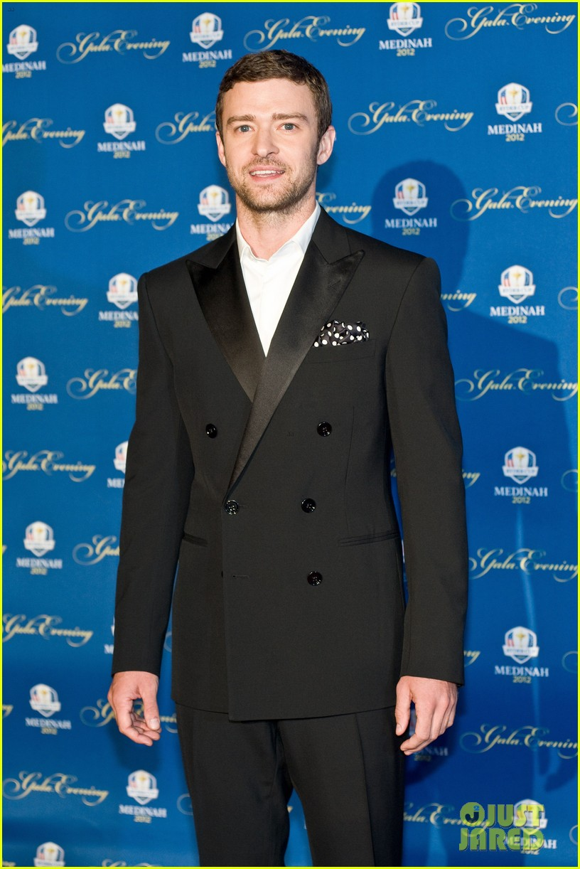 justin timberlake ryder cup gala with tiger woods 01