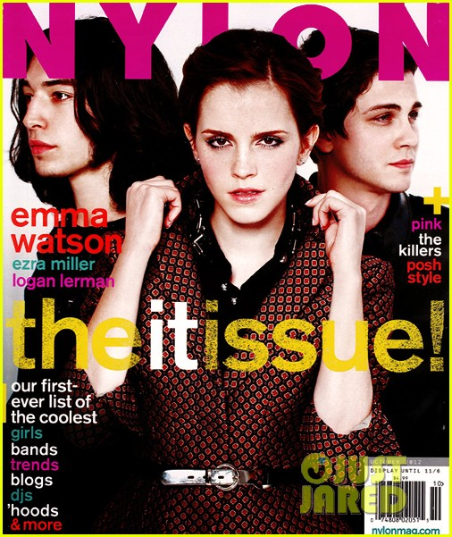 emma watson covers nylon magazine october 2012 012726919