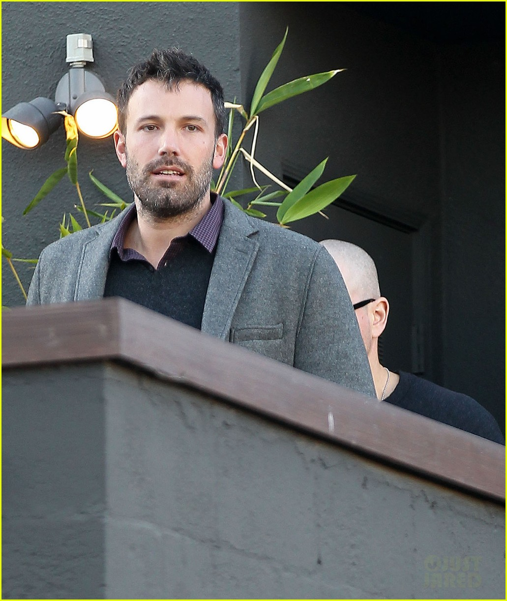 ben affleck matt damon business meeting buddies 072744490