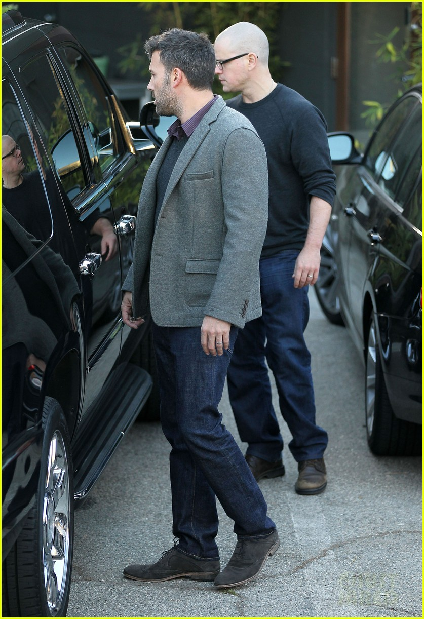 ben affleck matt damon business meeting buddies 14