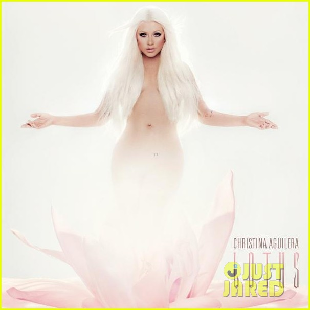 christina aguilera lotus album cover 01