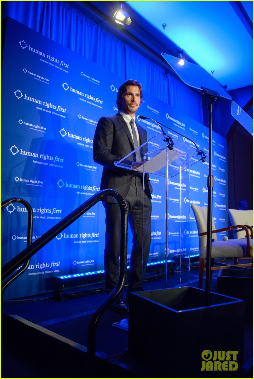 christian bale human rights award dinner 02