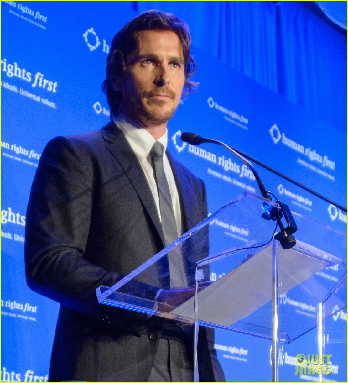 christian bale human rights award dinner 04