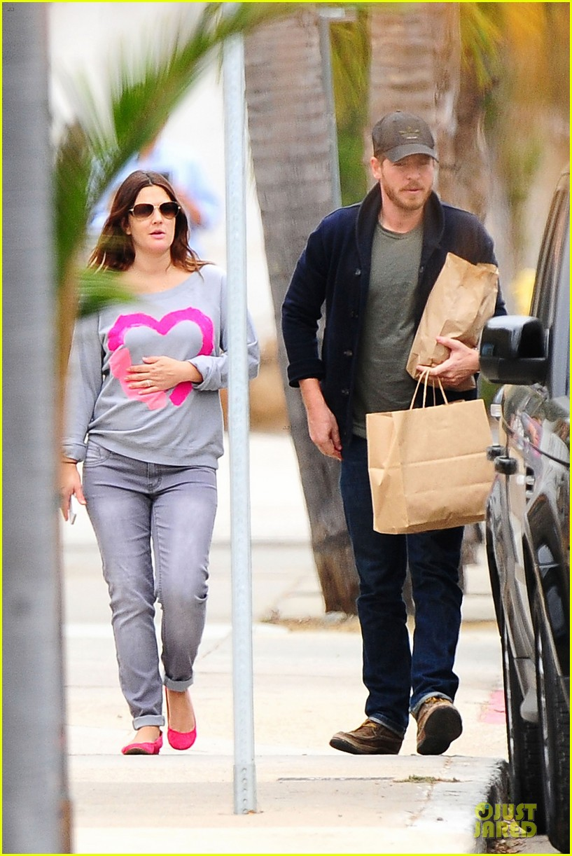 drew barrymore will kopelman post baby lunch 01