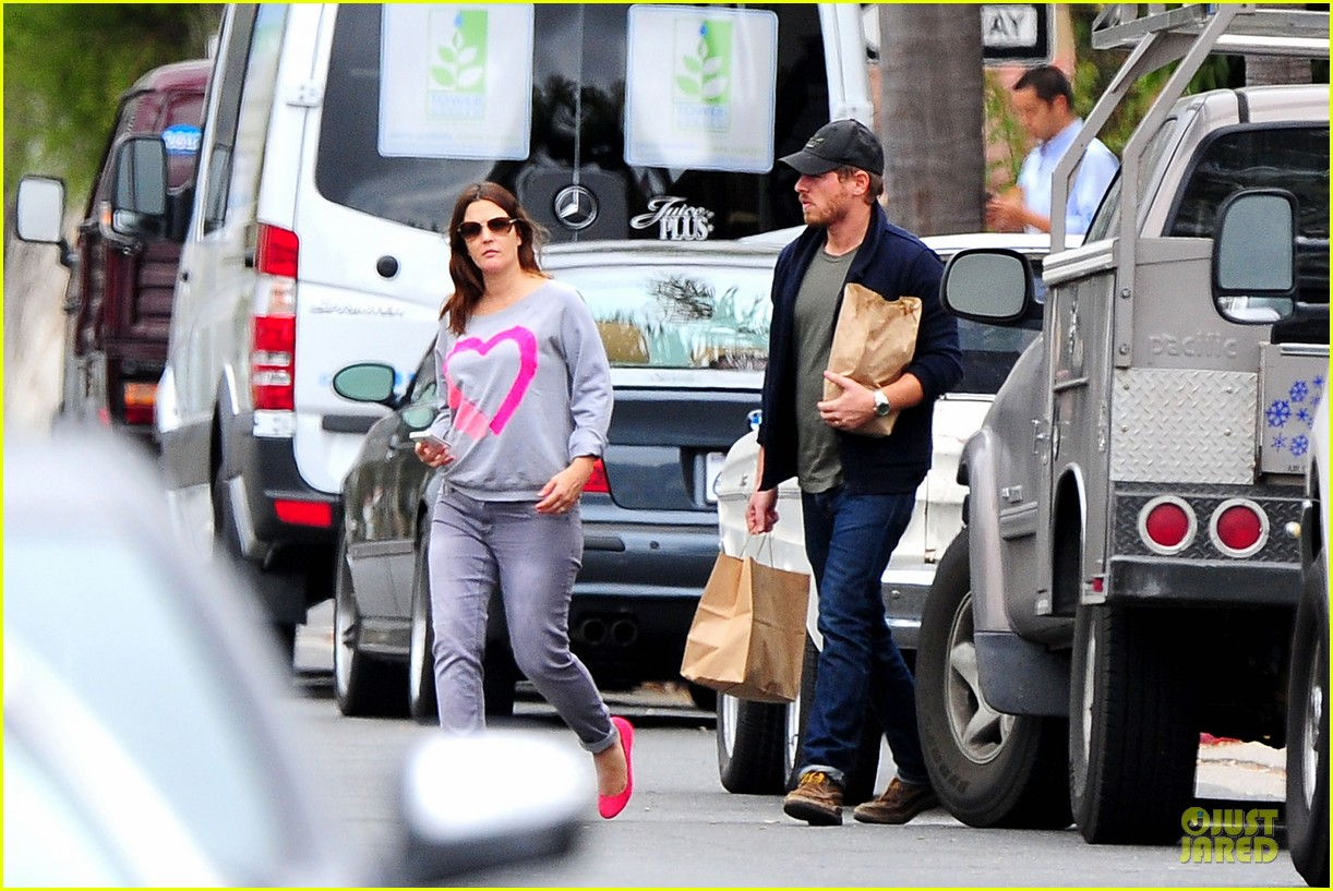 drew barrymore will kopelman post baby lunch 362742437