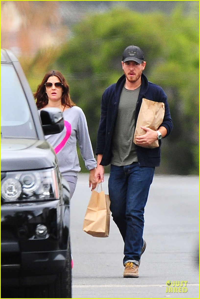drew barrymore will kopelman post baby lunch 41