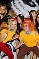 ashley benson chord overstreet just jared halloween party 34