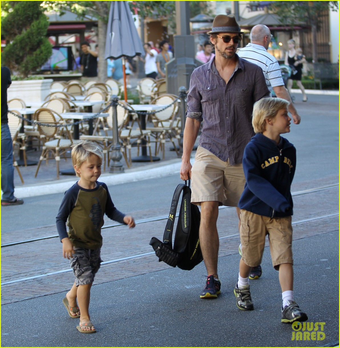 matt bomer hotel transylvania with the boys 02