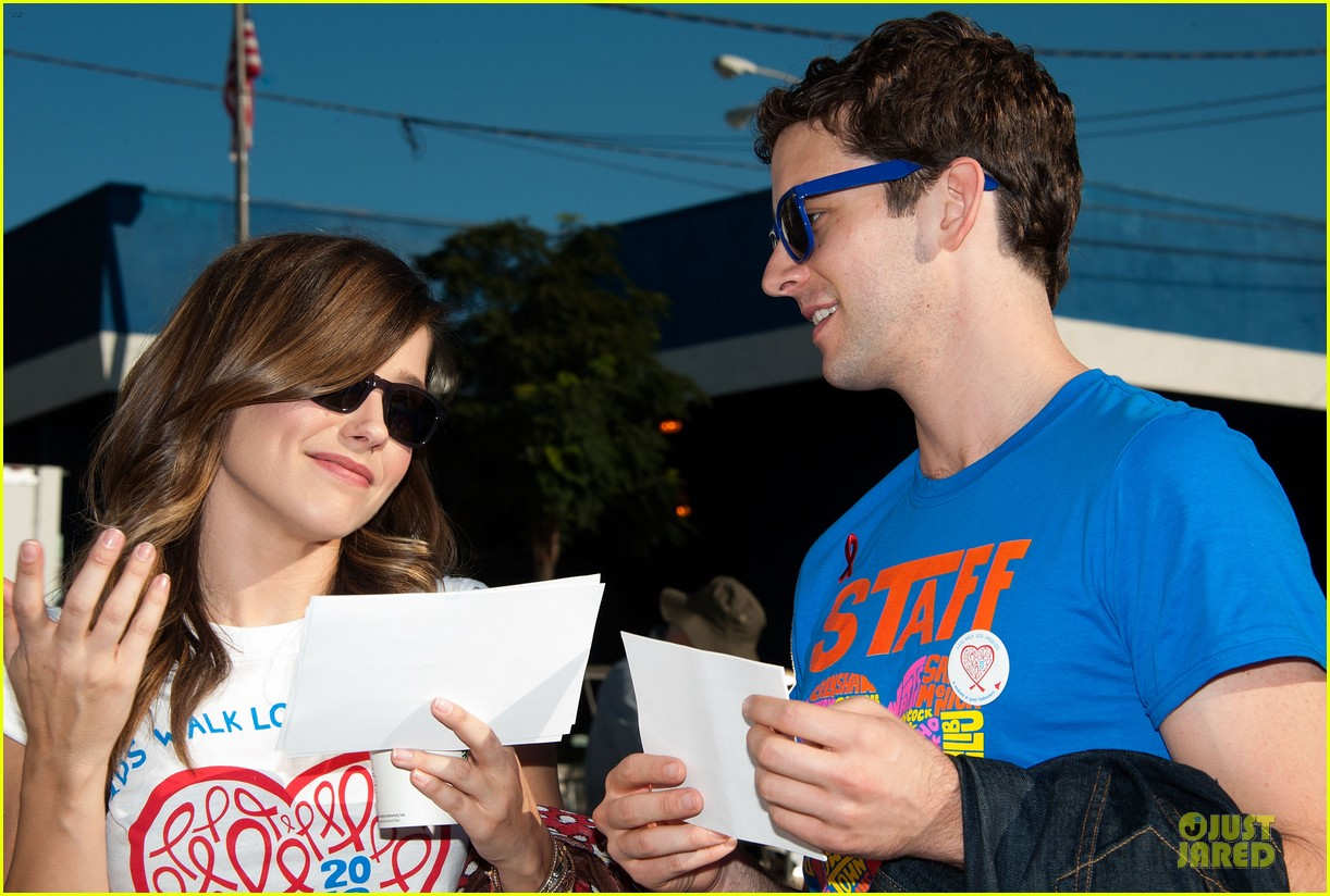 sophia bush christa b allen aids walk 16