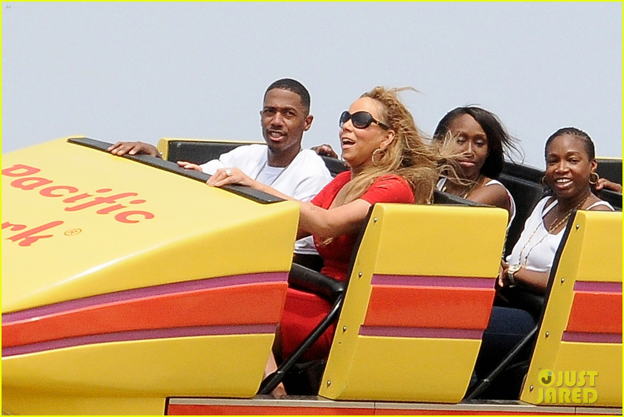 mariah carey nick cannon family day with dem babies 03