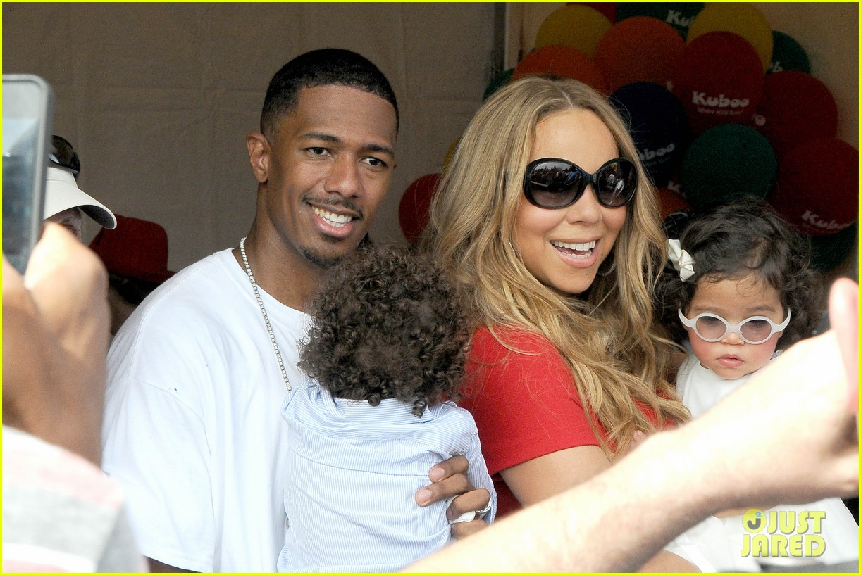 mariah carey nick cannon family day with dem babies 09