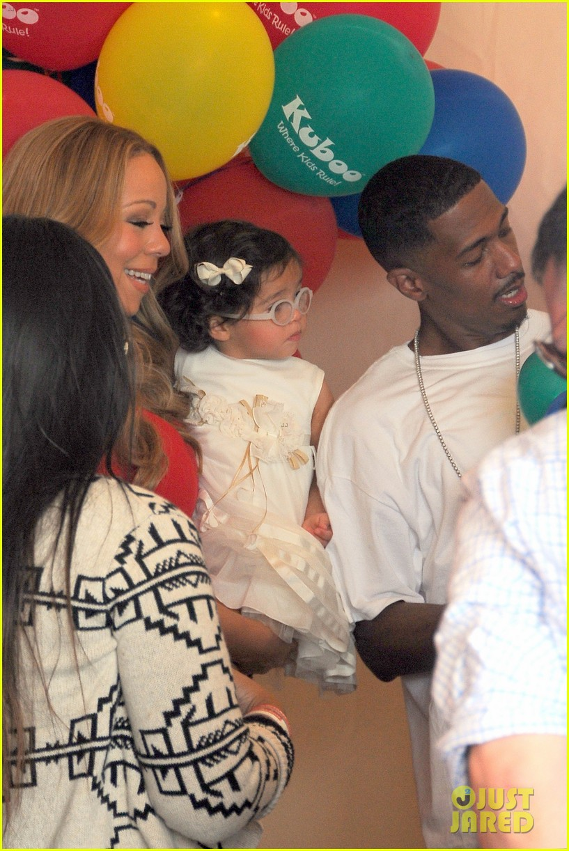 mariah carey nick cannon family day with dem babies 24