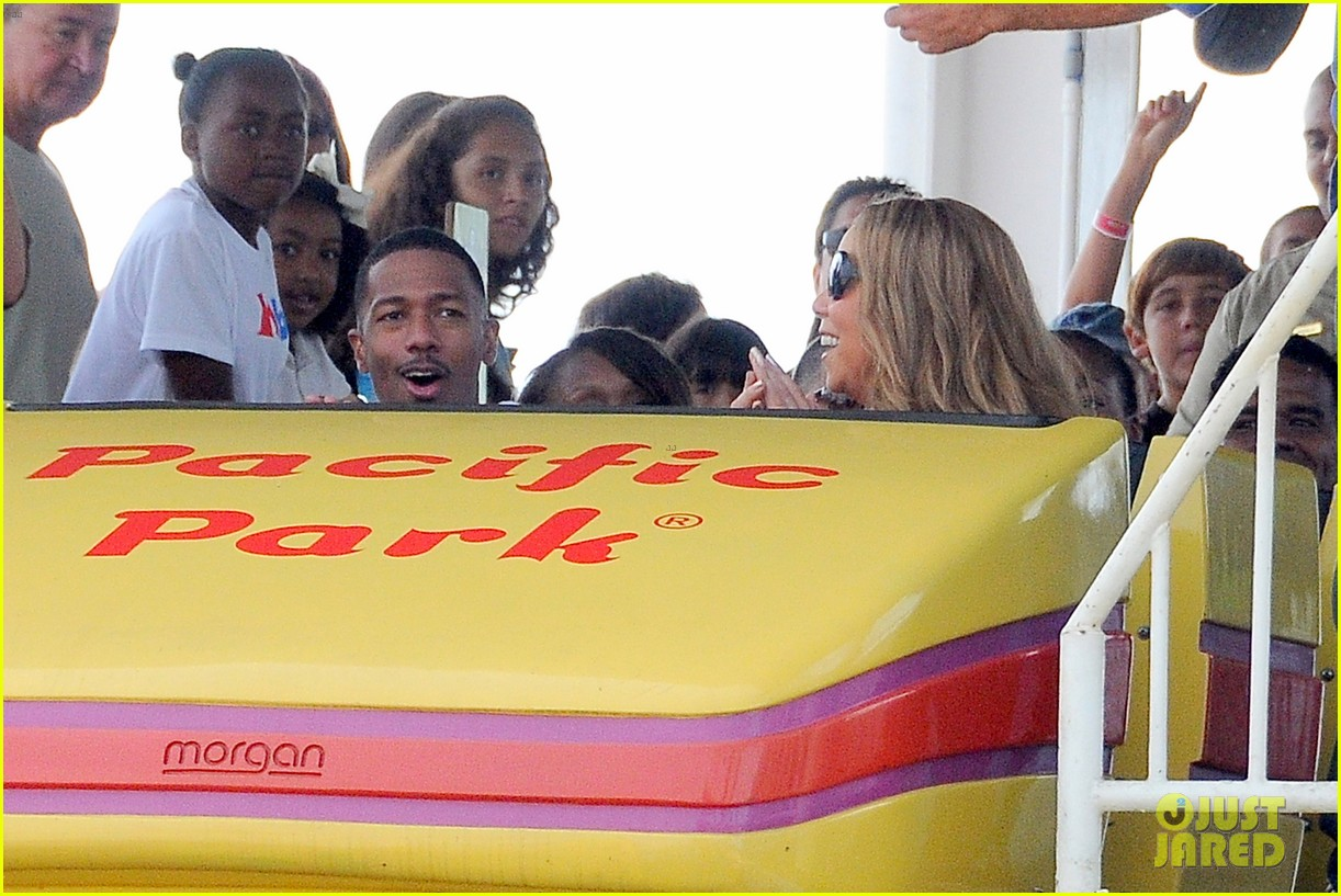 mariah carey nick cannon family day with dem babies 27