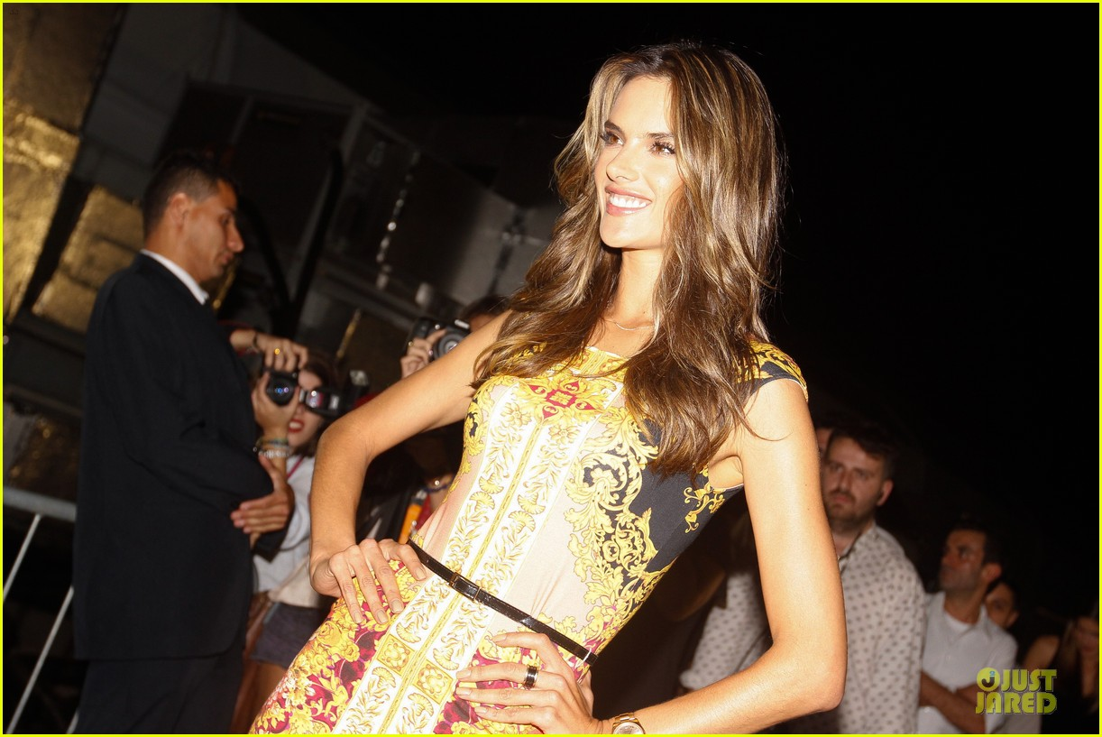 alessandra ambrosio colcci spring fall 2013 collection model 152748720