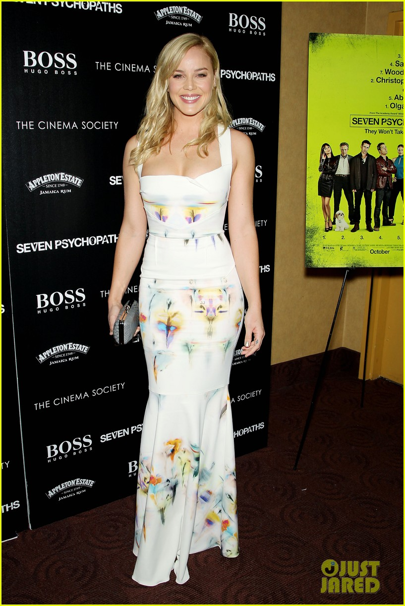 abbie cornish sam rockwell seven psychopaths in nyc 012736166