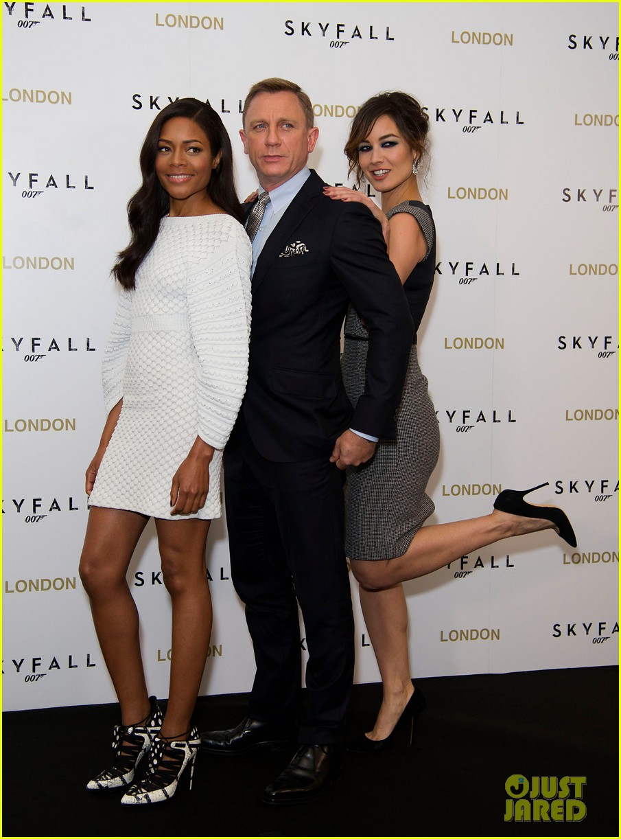 daniel craig skyfall london photo call 012742575