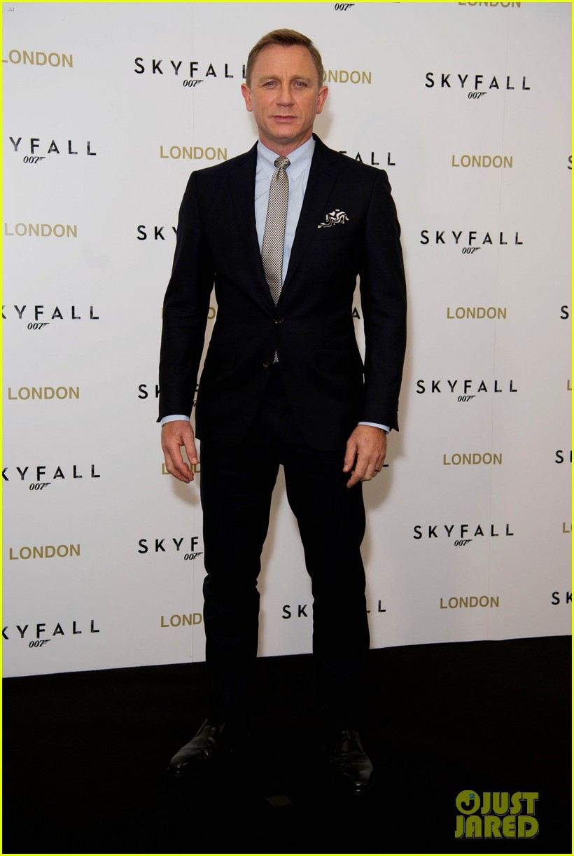 daniel craig skyfall london photo call 05