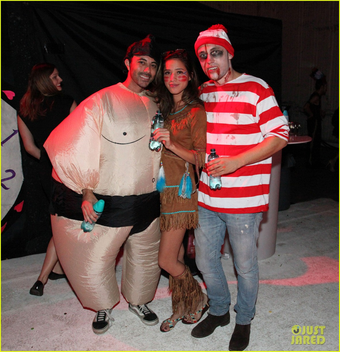 connor cruise just jared halloween party 2012 01