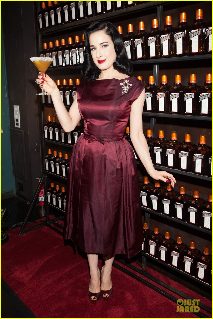 dita von teese cocktail debut in new york 252739630