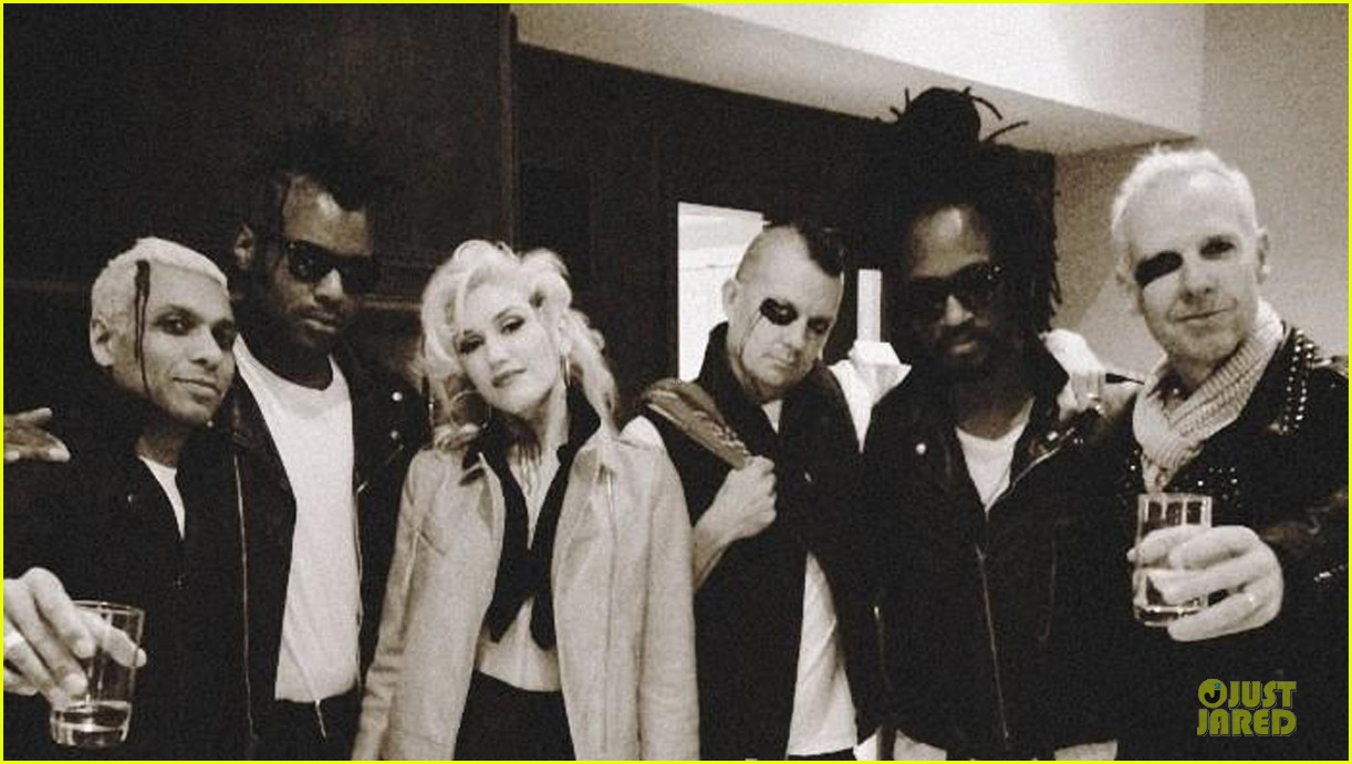 gwen stefani trick or threating with zuma 13