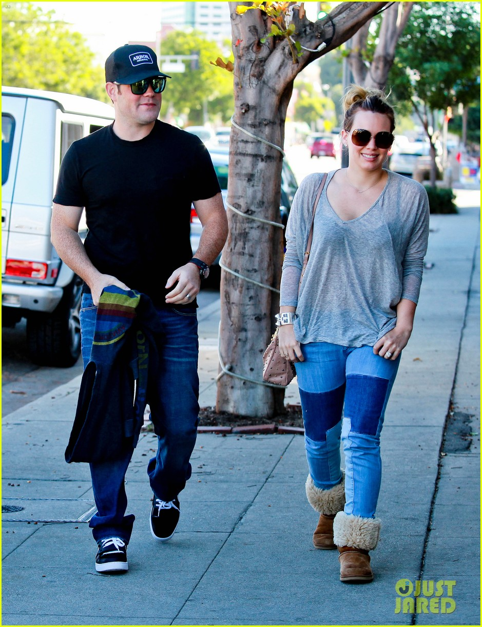 hilary duff mike comrie luca food shopping 18