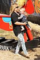 hilary duff mike comrie lucas first mr bones pumpkin patch 17
