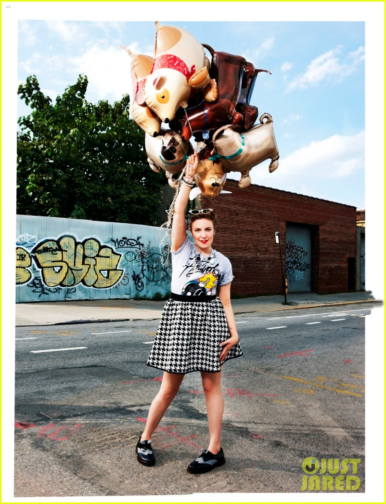 lena dunham covers asos magazine fashion up app 042731300