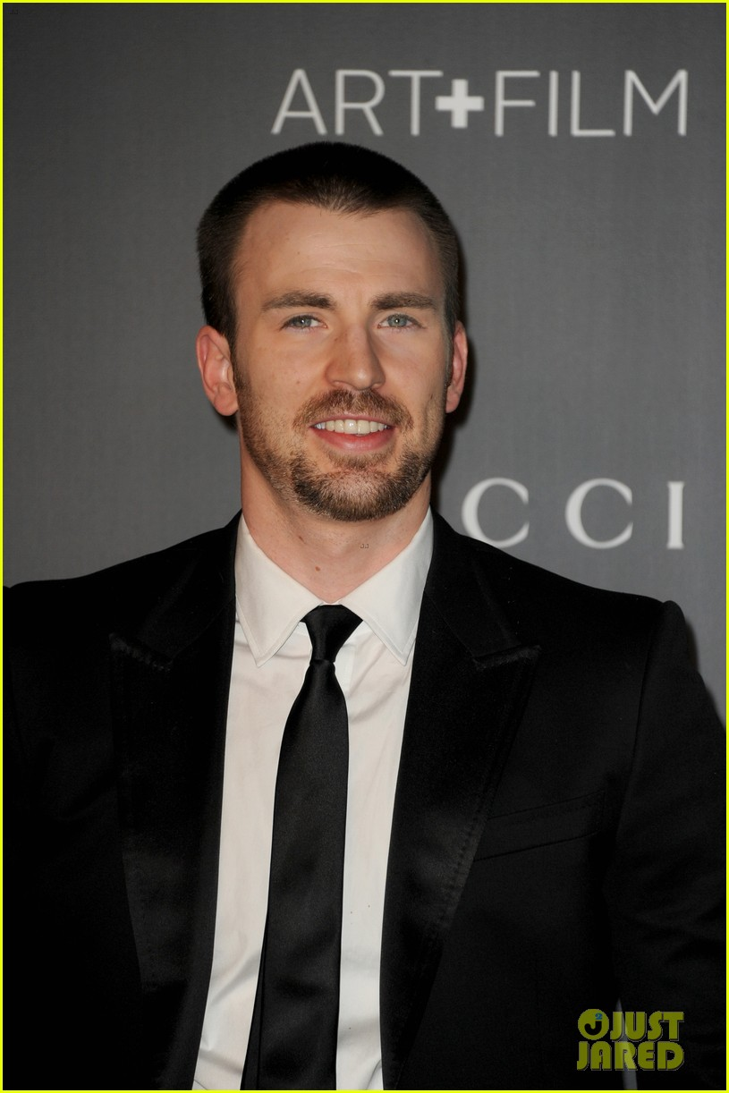 chris evans minka kelly lacma art film gala 2012 04