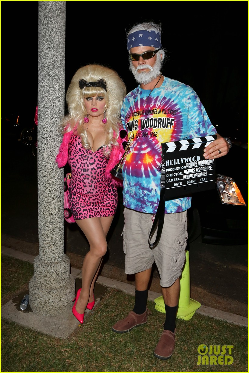 fergie angelyne halloween costume with josh duhamel 01