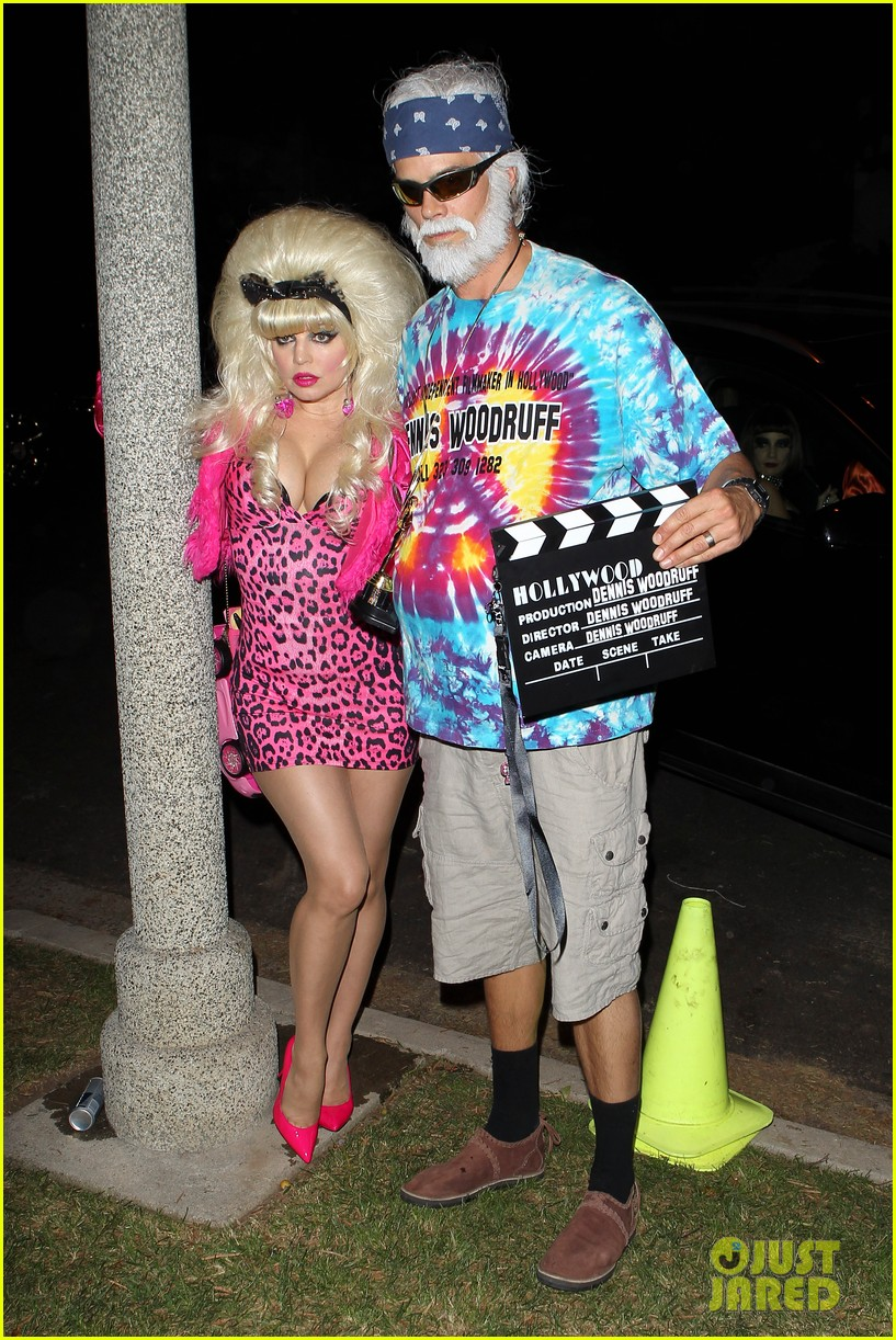 fergie angelyne halloween costume with josh duhamel 03