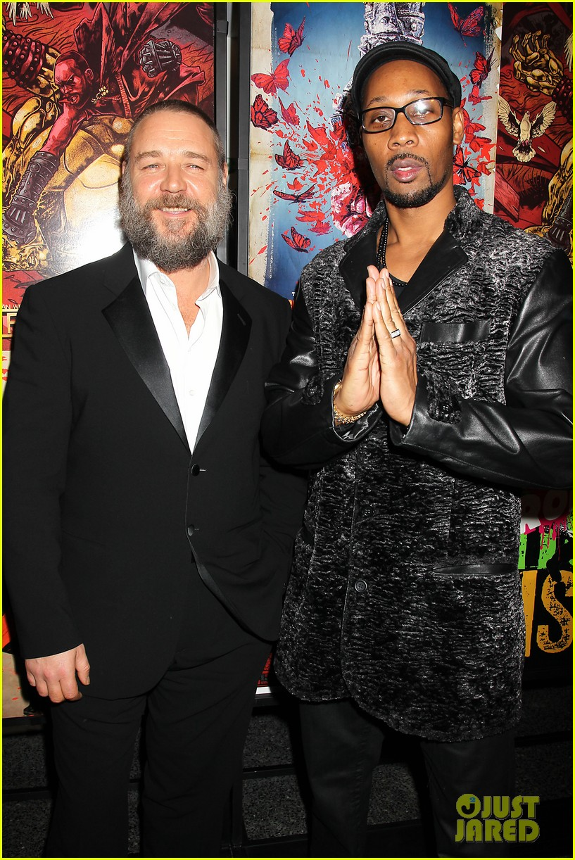 russell crowe iron fists screening 01