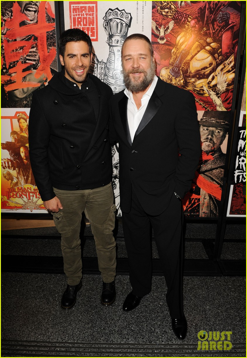 russell crowe iron fists screening 04