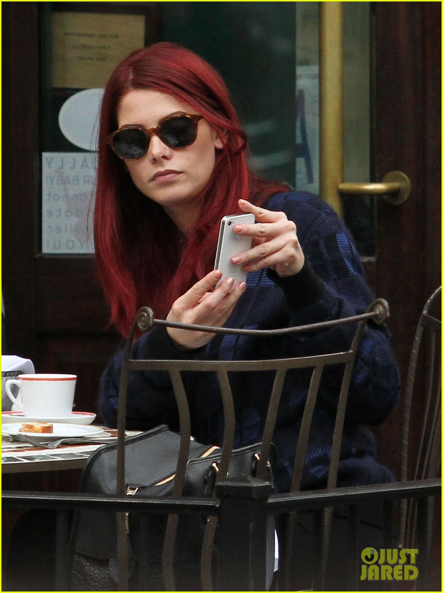 ashley greene new red hair 05