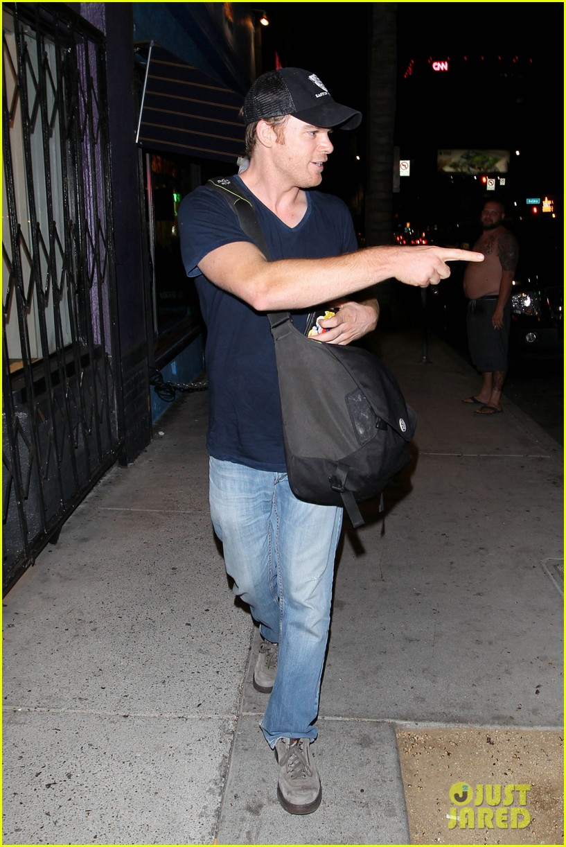 michael c hall gets new foot tattoo 102731823