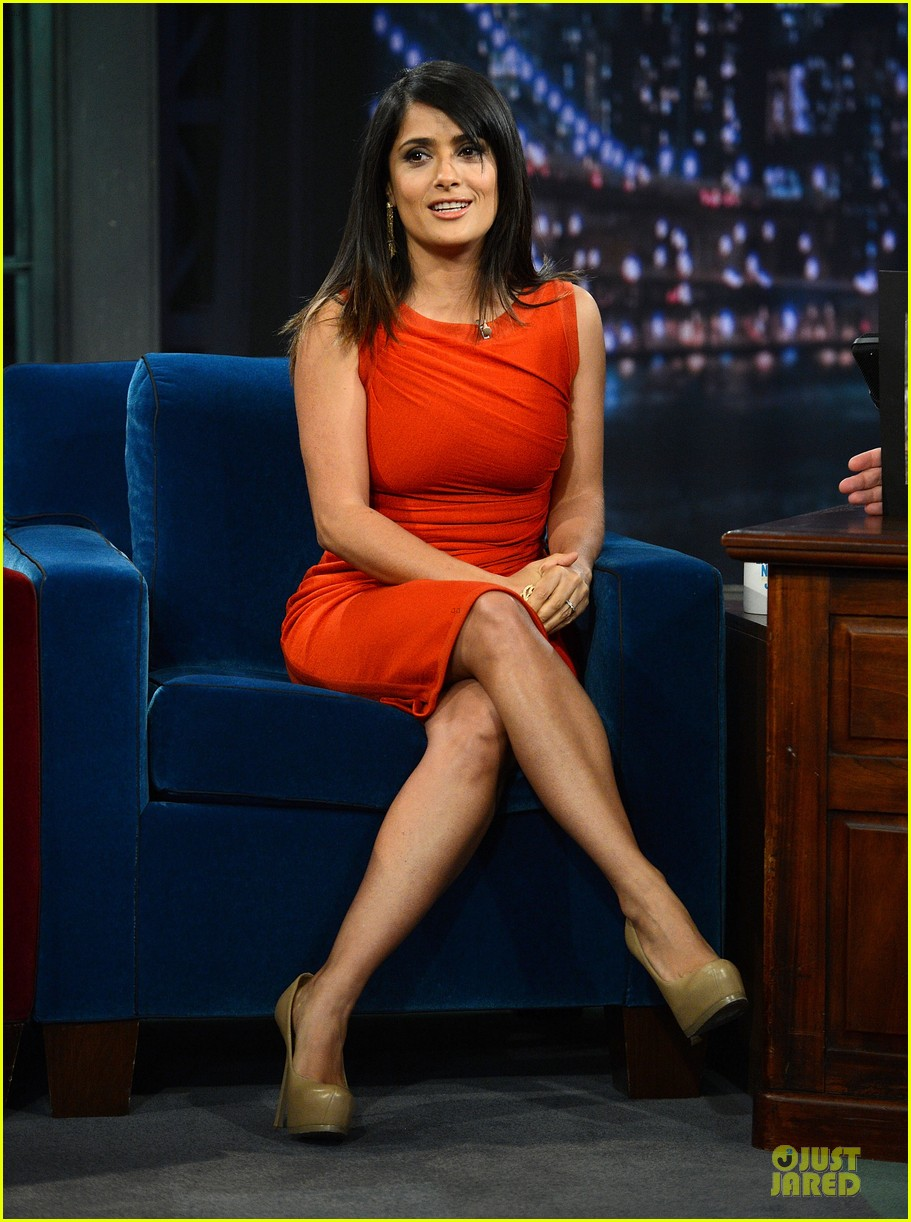 salma hayek late night with jimmy fallon appearance 032737339