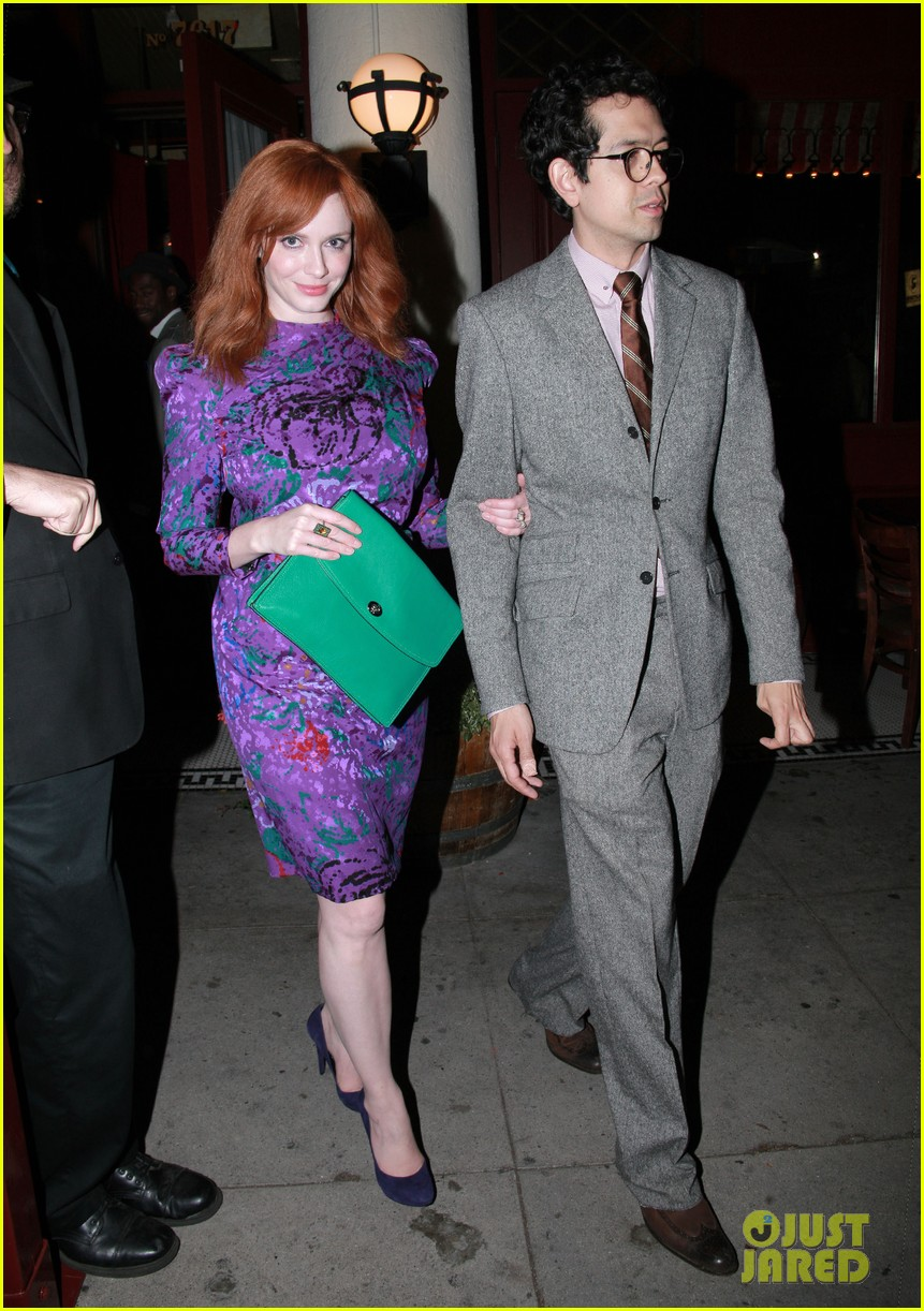 christina hendricks jon hamm separate los angeles outings 05