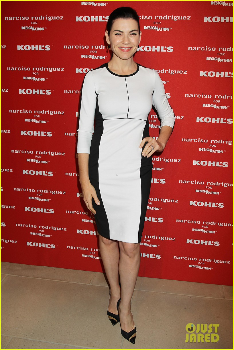 katie holmes emma roberts narciso rodriguez kohls launch party 20