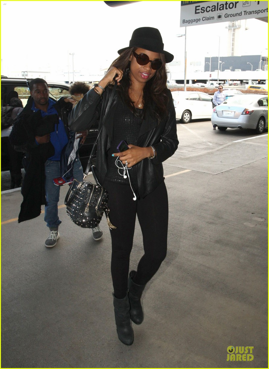 jennifer hudson lax departure with david 03