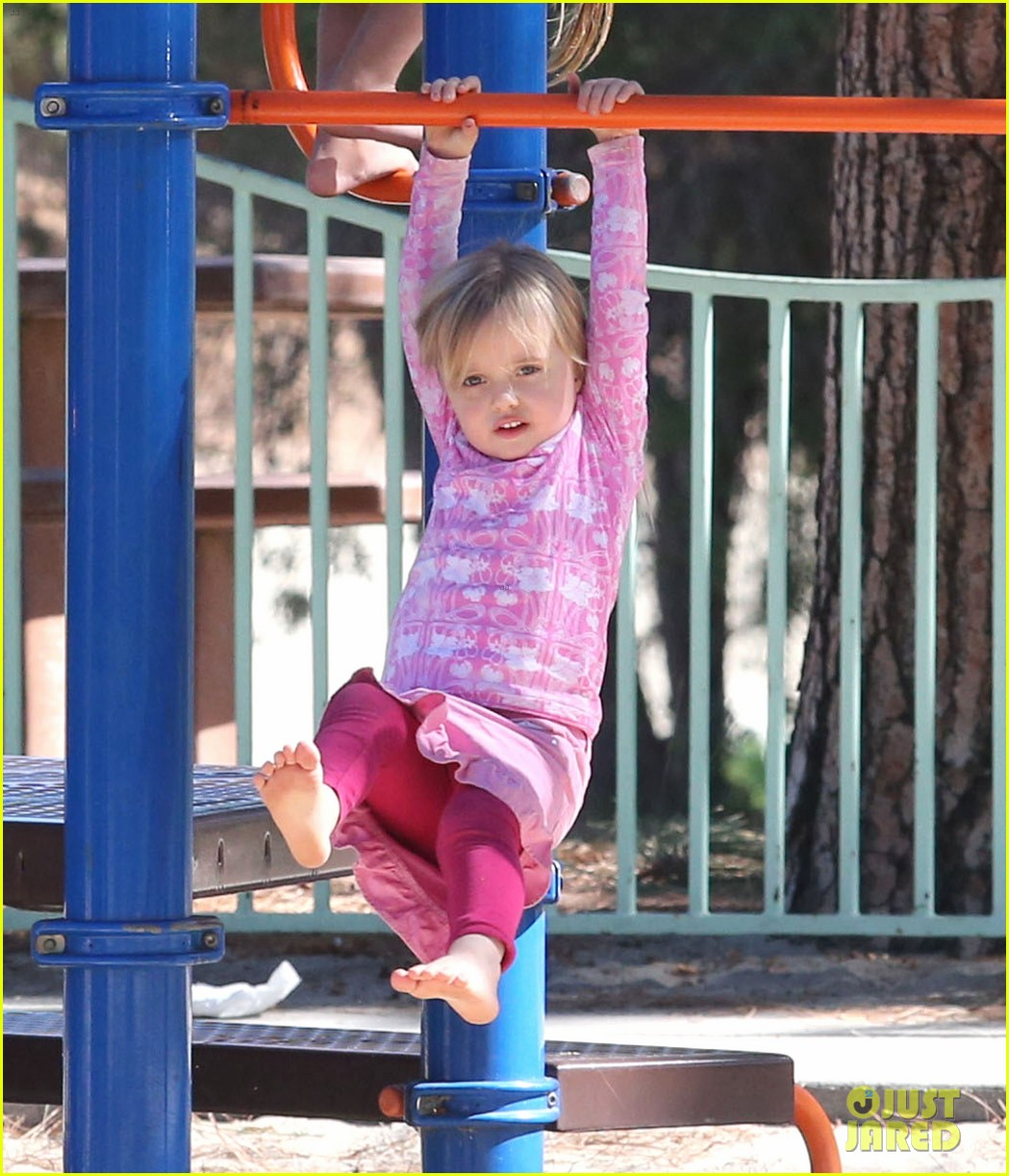 angelina jolie park playtime with knox vivienne 172746369
