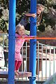 angelina jolie park playtime with knox vivienne 15