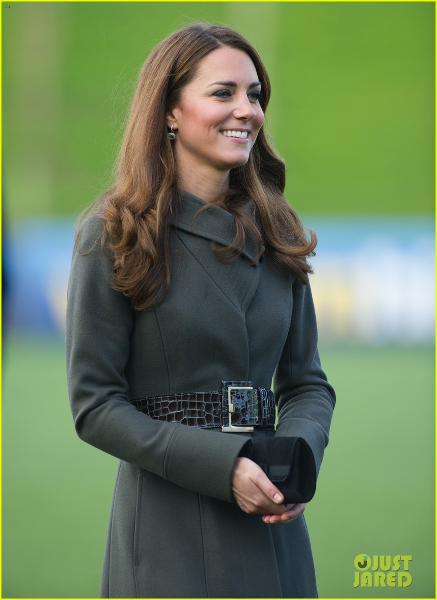 duchess kate prince william st georges park opening 022735327
